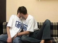 Hot Gay Couple Barebacking Action