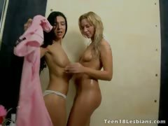 Ultra sexy youth teenage lesbians Lindsey And Elizabeth