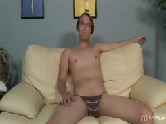 Brent's screen test is his first time performing on camera,