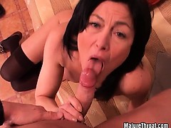 She got that cock really hardly and deeply in her pussy