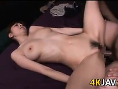 Chubby Guy Fucking A Beautiful Asian