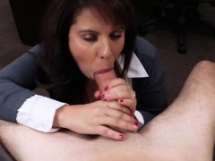 Latina Chick Wtih Big Tits Exchange Her Pussy For Money